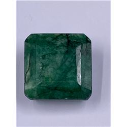 QUALITY ROUGH MINERAL POLISHED EMERALD 141.45 - 28.29G, 30 X 30 X 20MM, BRAZIL