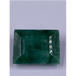 QUALITY ROUGH MINERAL POLISHED EMERALD 108.35 - 21.67G, 34 X 25 X 15MM, BRAZIL