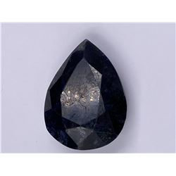 QUALITY ROUGH MINERAL POLISHED SAPPHIRE 427.00CT - 54.92G, 57 X 44 X 24MM, MADAGASCAR