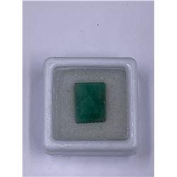 BEAUTIFUL EMERALD 8.05CT 13.07 X 9.97 X 5.99MM, COLOR GREEN, EMERALD CUT, CLARITY TRANSLUCENT,