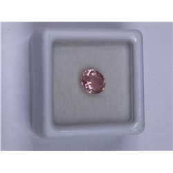RAVISHING PINK TOURMALINE 1.14CT 7.4 X 6.3 X 3.7MM, PINK COLOR, OVAL SHAPE, CLARITY EYE CLEAN,
