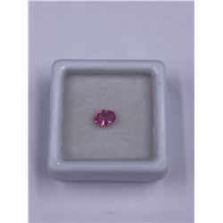 HIGH END PINK SPINEL 0.48CT 5.5 X 4.3 X 2.6MM, COLOR HOT PINK, OVAL SHAPE, CLARITY IF, LUSTER