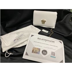 NEW WITH TAGS VERSACE PURSE WITH DUST BAG AND COA