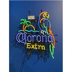 NEON CORONA LIGHT UP SIGN