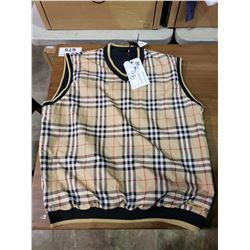 NEW WITH TAGS REVERSIBLE BURBERRY GOLF VEST