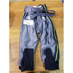 GAME ISSUED SEATTLE SEAHAWKS NFL FOOTBALL PANTS