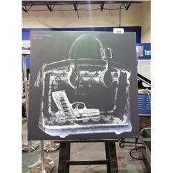 "LOUIS VUITTON BAG CHECK PRINTED CANVAS (40 X 40"")"