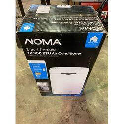 NOMA 3-IN-1 PORTABLE AIR CONDITIONER 10,000 BTU