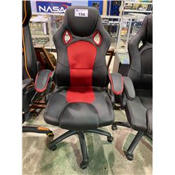 BLACK & RED GAMING CHAIR