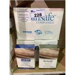 """NEW CASE OF LA-Z-BOY FURNITURE GALLERIES NUBUCK CARE PROGRAM FOR LEATHER TYPE """"N"""" APPROX. 12 BOX"""