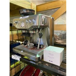 NEW OUT OF BOX BREVILLE ESPRESSO MACHINE WITH GRINDER MODEL BES870XL WITH MILK JUG