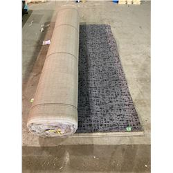 "LARGE COMMERCIAL SIZE CARPET APPROX. 12FT 5"" WIDE"