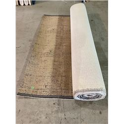 "LARGE COMMERCIAL SIZE CARPET APPROX. 12FT 1"" WIDE"
