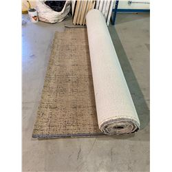 LARGE COMMERCIAL SIZE CARPET APPROX. 12FT  WIDE