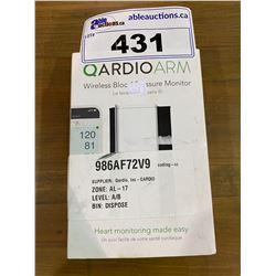 QARDIO ARM WIRELESS BLOOD PRESSURE MONITOR
