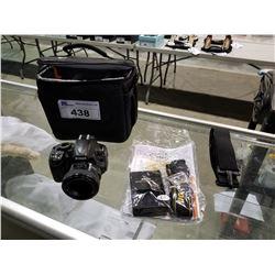 NIKON D3100 CAMERA WITH LENS, ACCESSORIES & BAG