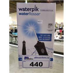WATERPIK WATERFLOSSER CORDLESS PLUS