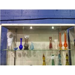 GLASS BOOT & ASSORTED GLASSWARE