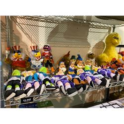 ASSORTED VINTAGE COLLECTIBLE DOLLS: MUPPETS, BIG BIRD, OLYMPIC BIRDS, MORE