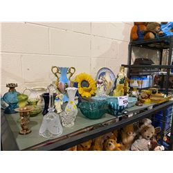 ASSORTED DISHWATER AND HOME DECOR