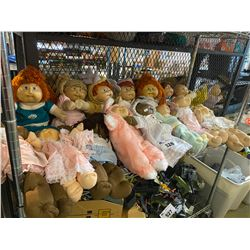 ASSORTED CABBAGE PATCH KIDS DOLLS