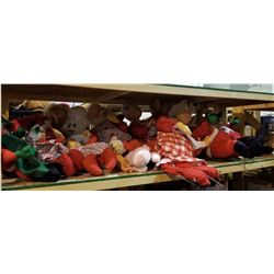 ASSORTED VINTAGE CHRISTMAS THEMED COLLECTIBLE DOLLS