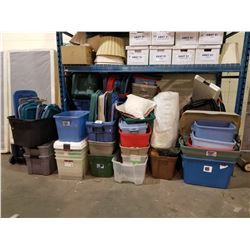 ASSORTED BINS/TOTES