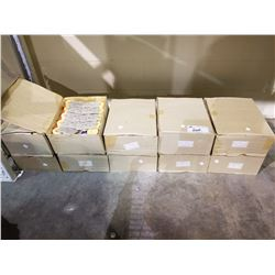 10 BOXES FILLED OF NEW PLUMBERS TAPE