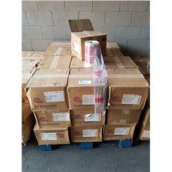 "PALLET OF BULK FOOD CLEAR PLASTIC BAGS (8.5X12"")"