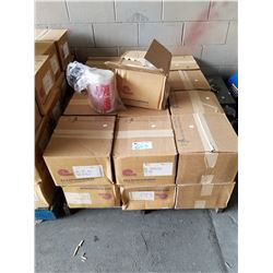 "PALLET OF BULK FOOD CLEAR PLASTIC BAGS (8.5X12"")"