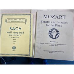 6 MUSIC BOOKS FOR PIANO