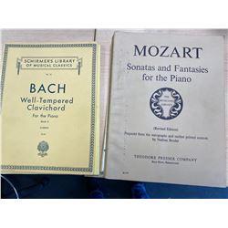 6 MUSIC BOOKS FOR PIANO