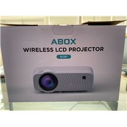 ABOX WIRELESS LCD PROJECTOR MODEL GC357
