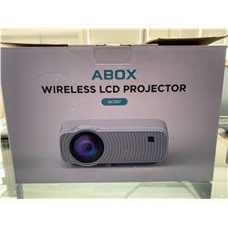 ABOX WIRELESS LCD PROJECTOR MODEL GC357