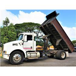 2007 Kenworth T300 Dump Truck (Runs & Dumps - See Video)