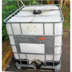 Schutz C50 Plastic Water Transport Container in Metal Cage 1650 kg Max