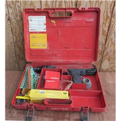 Hilti DX 36M Fastening System w/ Accessories in Hard Case