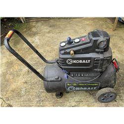 Kobalt Wheeled Air Compressor 8 Gal 150 PSI w/ Top Controls