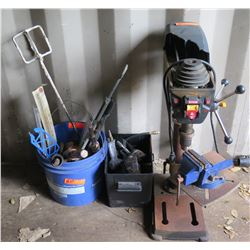 Drill Press w/ Laser & Accessories