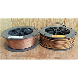 Qty 2 Spools Solid Soft Drawn Bare Copper Wire