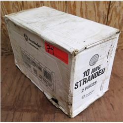 Box Southwire 10AWG 19 Strand Copper THHN Wire (2 Spools of 500' Each)