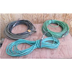 Qty 3 Misc Air Hoses w/ Fittings