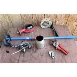 Misc Tools: Pipe Bender, Paint Sprayer w/ Nozzle, Hooks, etc