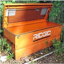 Ridgid  60R-05 Orange Universal Storage Top Chest & Contents