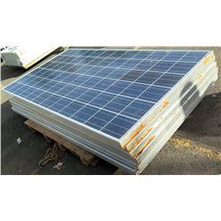 Qty 6 Hyundai Photovoltaic Module Solar Panels STC(1000W/m)