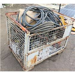 Wire Box & Contents: EnPhase Energy Adapters, Air Hoses, Conduit , Hardware, etc