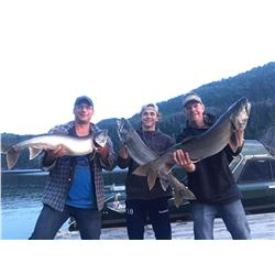 4 Day Fishing - Williston Lake Northeast British Columbia