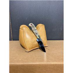 Custom Sheep Horn Handle Knife