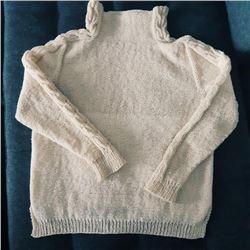 Norwegian Mountain Sheep Yarn Handknit Sweater