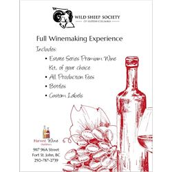 Harvest Wine Outfitters – Full Wine Making Experience